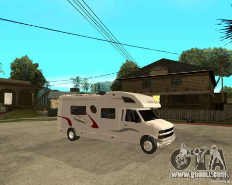 Chevrolet Camper for GTA San Andreas right view