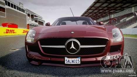 Mercedes-Benz SLS AMG 2010 [EPM] for GTA 4 engine
