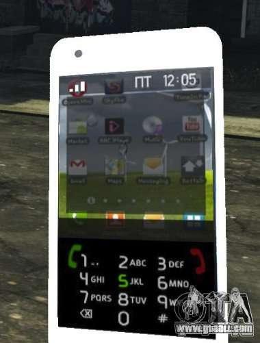 Samsung Galaxy S2 for GTA 4 fifth screenshot