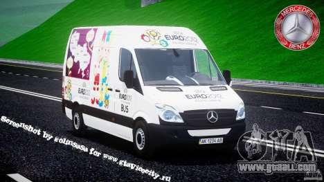 Mercedes-Benz Sprinter Euro 2012 for GTA 4
