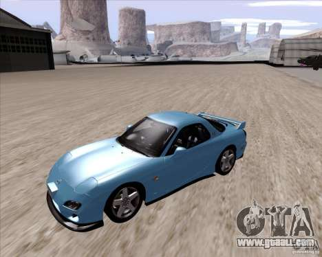 Mazda RX7 2002 FD3S SPIRIT-R (Type RS) for GTA San Andreas left view