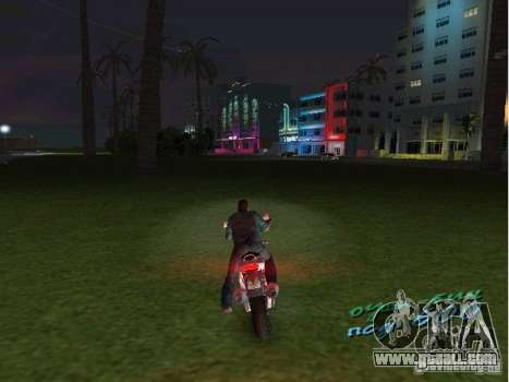 Ducati Supersport 1000 DS for GTA Vice City left view