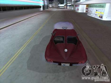 Chevrolet Corvette Big Muscle for GTA San Andreas right view