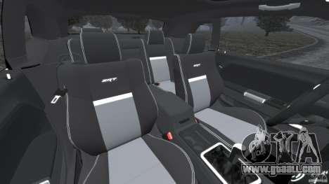 Dodge Challenger SRT8 2009 [EPM] for GTA 4 inner view