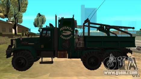 KrAZ 255 B1 Krazy-Crocodile for GTA San Andreas left view