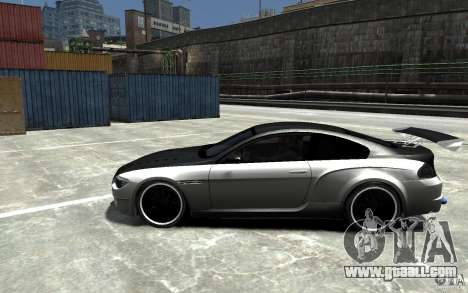 BMW M6 Tuning for GTA 4 left view