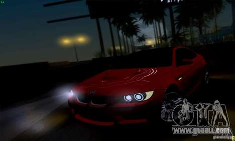 BMW M3 E92 v1.0 for GTA San Andreas right view