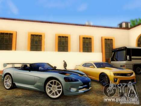Dodge Viper SRT-10 Roadster ACR 2004 for GTA San Andreas right view