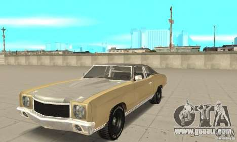 Chevy Monte Carlo [F&F3] for GTA San Andreas