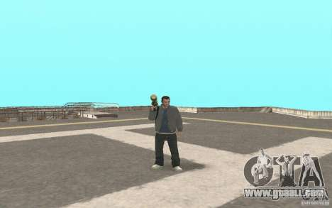 Animation of GTA IV for GTA San Andreas third screenshot