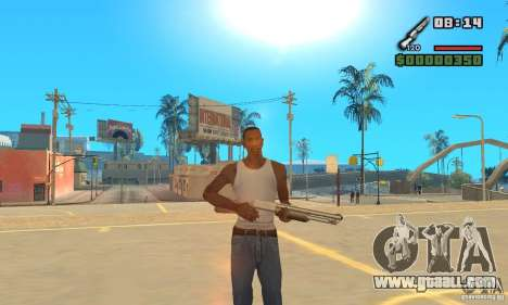 New Weapon Icon Pack for GTA San Andreas second screenshot