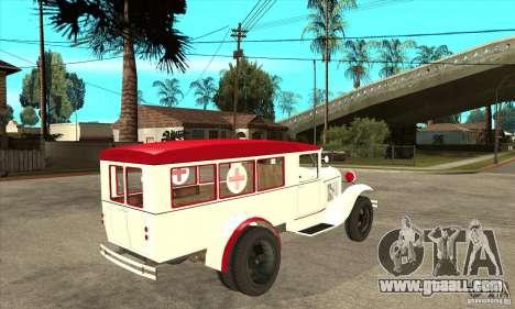 GAZ AA ambulance for GTA San Andreas right view