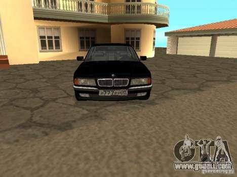 BMW 740I E38 (RUS) for GTA San Andreas