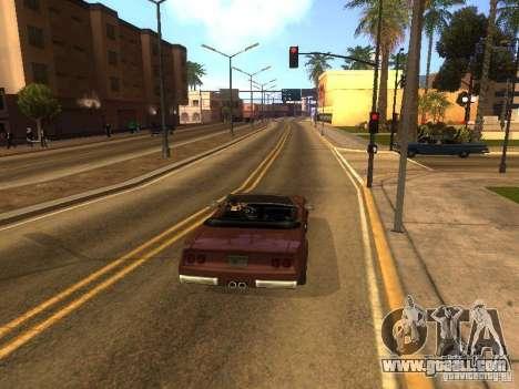 Feltzer of GTA Vice City for GTA San Andreas back view