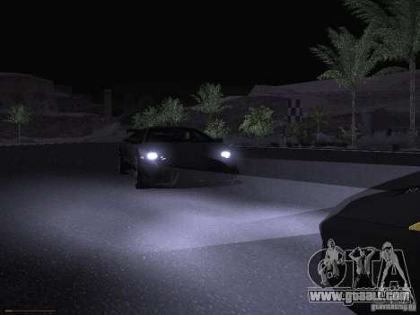 Lamborghini Reventon for GTA San Andreas upper view