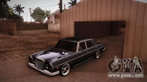 Mercedes Benz 300 SEL - Custom RC3D Edit for GTA San Andreas side view