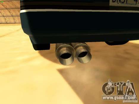 Toyota Supra for GTA San Andreas interior
