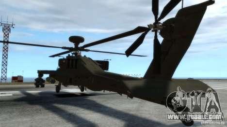 AH-64D Longbow Apache v1.0 for GTA 4 inner view