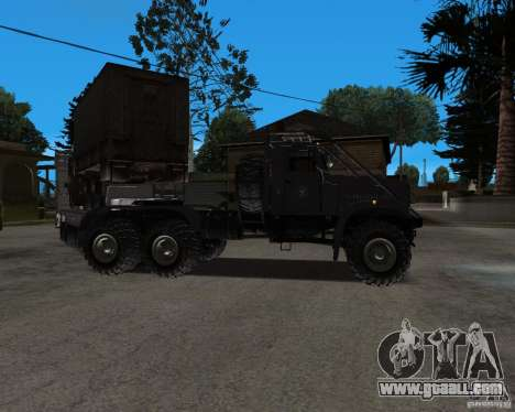 KrAZ 255 + trailer artict2 for GTA San Andreas right view