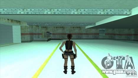 Lara Croft for GTA San Andreas second screenshot