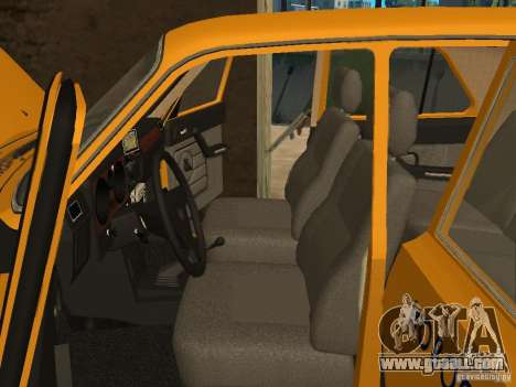 GAZ 31029 Taxi for GTA San Andreas inner view