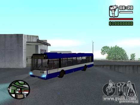 Solaris Urbino 12 for GTA San Andreas left view
