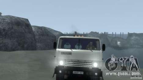 KAMAZ 4310 for GTA 4 back view