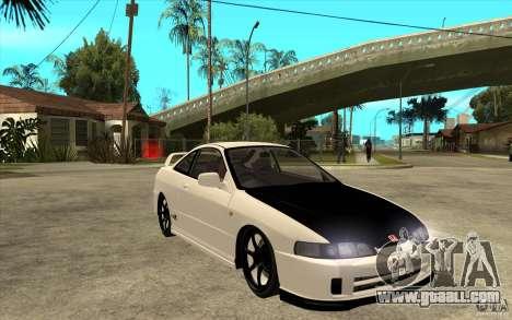 Honda Integra Spoon Version for GTA San Andreas back view
