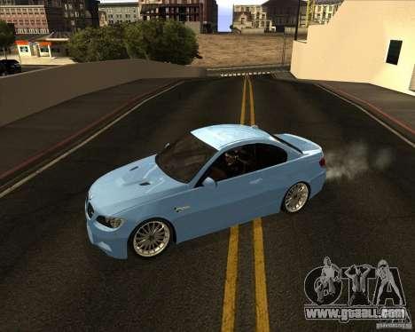 BMW M3 Convertible 2008 for GTA San Andreas