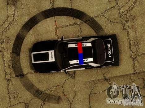 Nissan Skyline R32 Police for GTA San Andreas side view