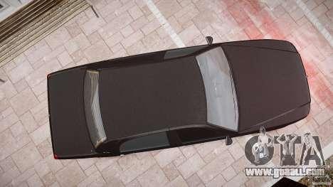 Washington FBI Car for GTA 4 upper view