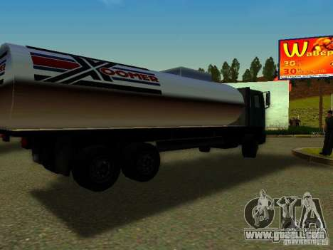 DFT-30 c Tank for GTA San Andreas left view