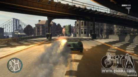 Micro Uzi Rocket Mod for GTA 4 forth screenshot