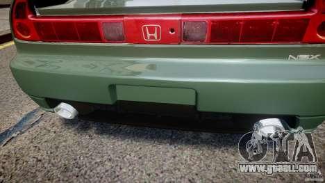 Honda NSX NA2 [Beta] for GTA 4 interior