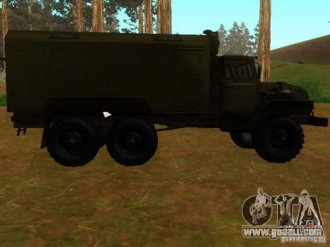 Ural 4320 Kung for GTA San Andreas back view