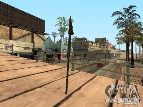 Spear for GTA San Andreas