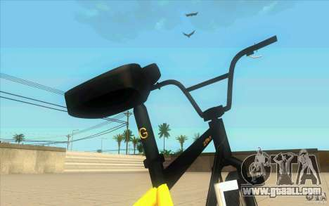 17.5 BMX for GTA San Andreas back view