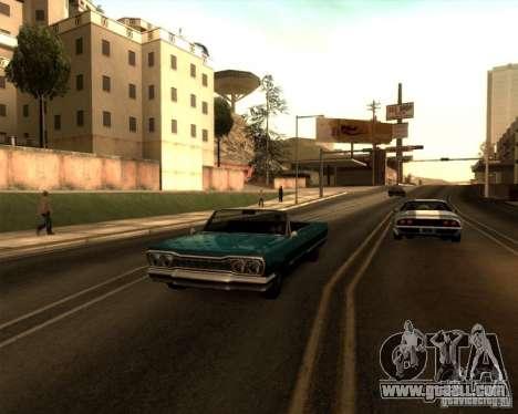 ENBSeries by Sashka911 v3 for GTA San Andreas fifth screenshot