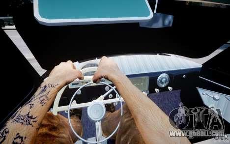 Gaz m 21 Light Tuning for GTA 4 back view