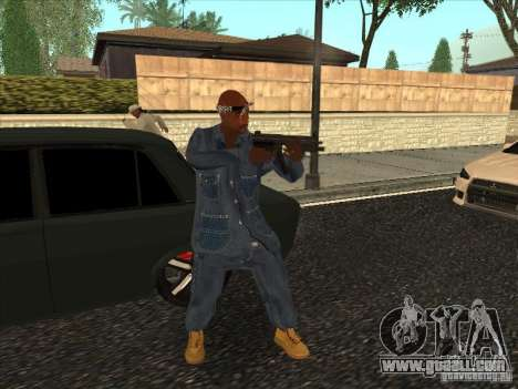 2Pac v1 for GTA San Andreas third screenshot