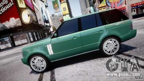 Range Rover Vogue for GTA 4 left view