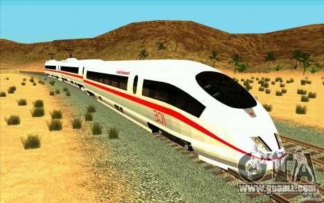 ICE3 Train for GTA San Andreas