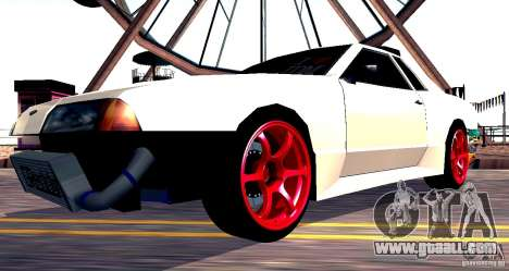 Elegy Drift Masters v0.2 for GTA San Andreas right view