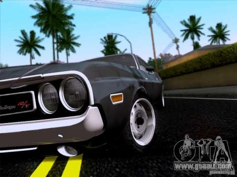 Dodge Challenger HEMI for GTA San Andreas right view