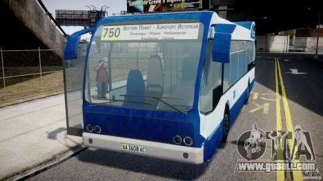 DAF Berkhof City Bus Amsterdam for GTA 4