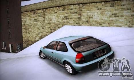 Honda Civic EK9 for GTA San Andreas left view