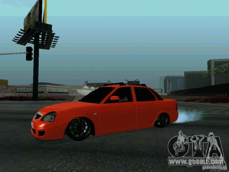 LADA 2170 102-RUS for GTA San Andreas left view