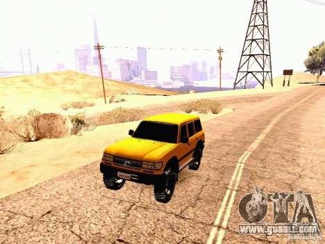 Toyota Land Cruiser 80 Off Road Rims for GTA San Andreas