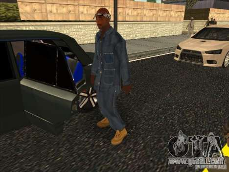 2Pac v1 for GTA San Andreas second screenshot
