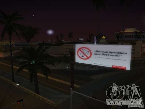 New posters around the State for GTA San Andreas fifth screenshot